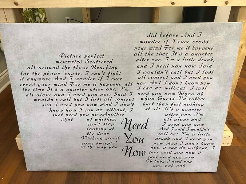 Panda print | Custom Sign shop | Print shop