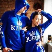 King - queen hoodies